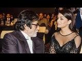 Amitabh & Aishwarya Rai Together At Filmfare Glamour & Style Awards 2016 Red Carpet