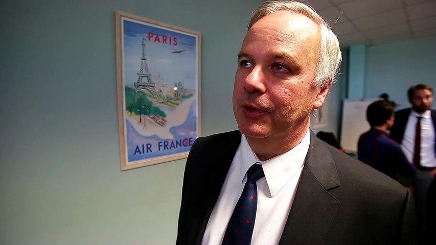 Alain Battisti, pdg de chalair aviation
