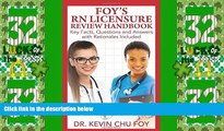 Price Foy s RN Licensure Review Handbook Dr Kevin Chu Foy For Kindle
