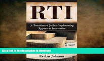Pre Order RTI: A Practitioner s Guide to Implementing Response to Intervention Kindle eBooks
