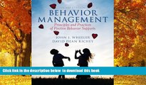 Pre Order Behavior Management, Pearson eText with Loose-Leaf Version -- Access Card Package (3rd