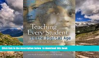 Audiobook Teaching Every Student in the Digital Age: Universal Design for Learning David Rose Book