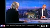 Marine Le Pen recadre Marion Maréchal-Le Pen sur l'IVG en direct (Vidéo)