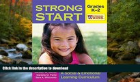 Hardcover Strong Start - Grades K-2: A Social and Emotional Learning Curriculum (Strong Kids)