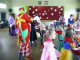 klaun-imprezy wodzirej na zabawę dla dzieci