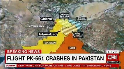 Breaking News CNN | PIA ATR PLANE CRASHED NEAR ISLAMABAD