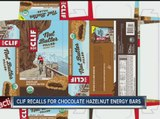 CLIF Bar & Company recalls energy bars