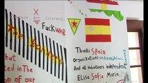 Οι συνήγοροι του πολίτη Ελλάδας και Ισπανίας στον χώρο φιλοξενείας προσφύγων στις Θερμοπύλες