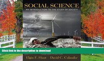 Audiobook Social Science: An Introduction to the Study of Society (14th Edition)  Full Download