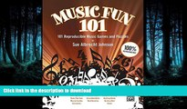 READ Music Fun 101: 101 Reproducible Music Games and Puzzles (Teacher s Handbook) (Comb Bound