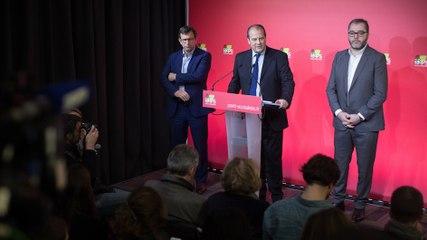 Conférence de presse de Jean-Christophe Cambadélis sur les Primaires citoyennes - jeudi 8 décembre