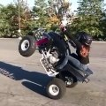 Girl Wheeling On Four Wheeler - 4 Wheelers Awesome