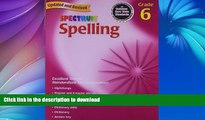 Hardcover Spelling, Grade 6 (Spectrum) Kindle eBooks