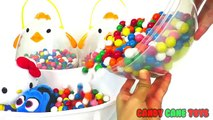 ➤Learn Colors Baby Doll Bath Play Doh Fun Lollipops Molds Family Nursery Rhymes Compilation for Kids