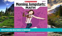 Audiobook Morning Jumpstarts: Math (Grade 3): 100 Independent Practice Pages to Build Essential