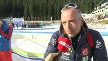 Biathlon - Coupe du monde - Hommes : Franck Badiou «Chapeau bas Martin (Fourcade)»