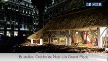 Crèche de Noël sur la Grand-Place de Bruxelles