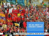 En 2012, Hugo Chávez llamó a los venezolanos a permanecer unidos