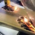 De l'art sur bois avec de l'électricité