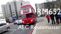 AEC Routemaster RM652 WLT652 on London Buses Route 15H