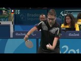 Table Tennis | FRA v GER | Men's Singles - Qualification Class 7 Group B | Rio 2016 Paralympic Games