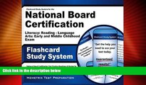 Price Flashcard Study System for the National Board Certification Literacy: Reading - Language