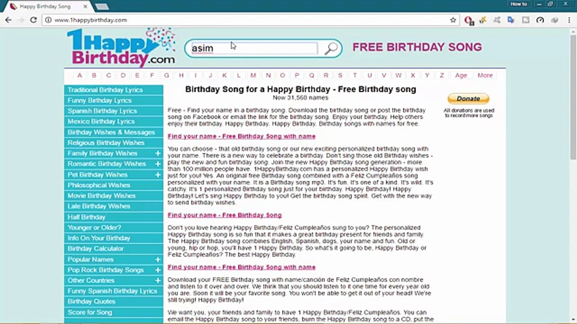 How To Make Birthday Song Of Your Name - How to Urdu - YouTube