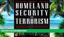 Price Homeland Security and Terrorism: Readings and Interpretations (The Mcgraw-Hill Homeland