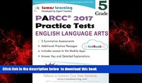Pre Order Common Core Assessments and Online Workbooks: Grade 5 Language Arts and Literacy, PARCC