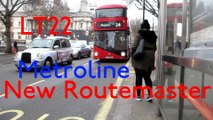New Routemaster LT22 LTZ1022 on London Buses Route 24