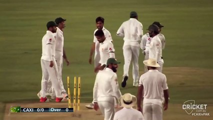 3 wickets for Amir & a wicket for Rahat provides Pakistan with a good end to day 1 against the CA XI