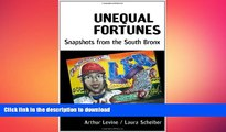 Hardcover Unequal Fortunes: Snapshots from the South Bronx Full Book