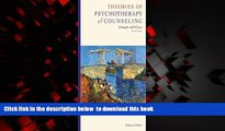 Pre Order Theories of Psychotherapy and Counseling: Concepts and Cases Richard S. Sharf Full Ebook