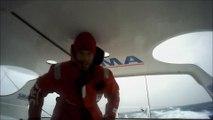 J34 : Des rafales à 40 noeuds pour Paul Meilhat / Vendée Globe