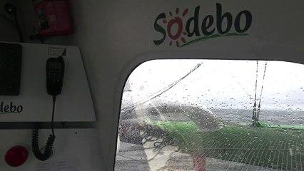 """Tour du Monde Sodebo J+32 - La 12ème vidéo du bord et une """"1ère forme de vie depuis bien longtemps"""""""