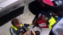 J34 : Atelier réparation pour Thomas Ruyant / Vendée Globe