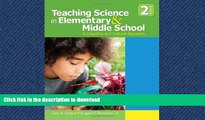 Read Book Teaching Science in Elementary and Middle School: A Cognitive and Cultural Approach