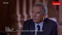 """François Bayrou : """"Ce n'est pas parce que vous avez gagné les élections que vous pouvez imposer vos idées aux autres"""""""