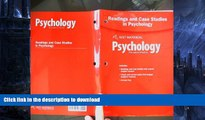 Hardcover Holt McDougal Psychology Principles in Practice Readings and Case Studies in Psychology