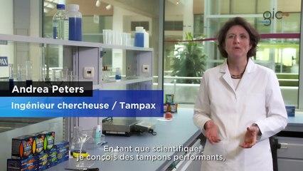 Tampax - La composition de nos tampons