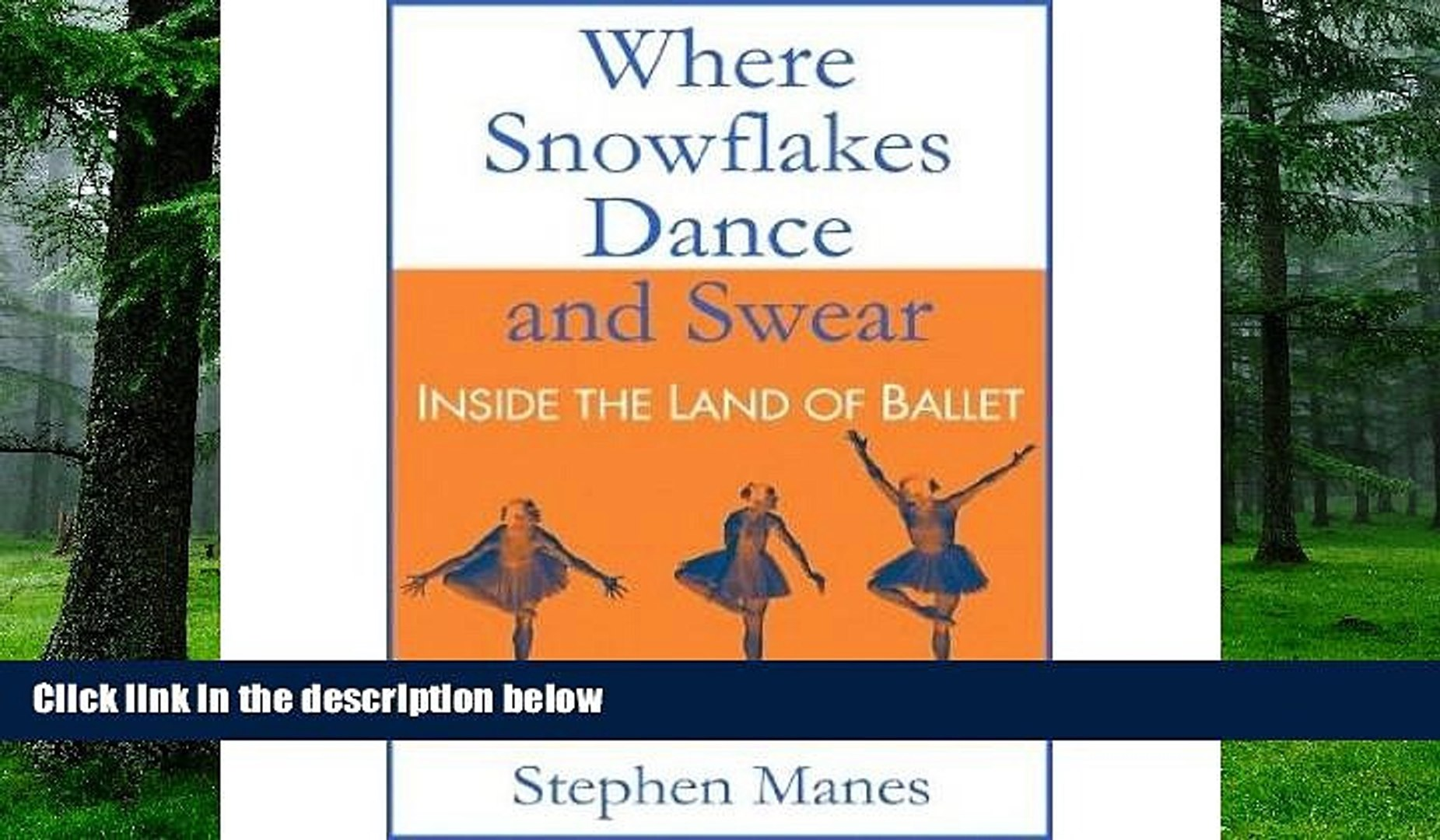 Where Snowflakes Dance and Swear Inside the Land of Ballet