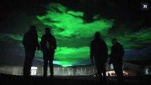 Aurores boréales : un artiste suisse créé l'illusion avec des lasers