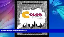 Pre Order Color By Number For Adults: Amazing Cities Around The World (Volume 1) Nona Meyers On CD