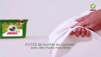 Comment utiliser les Capsules liquides PODS 3en1 – Ariel