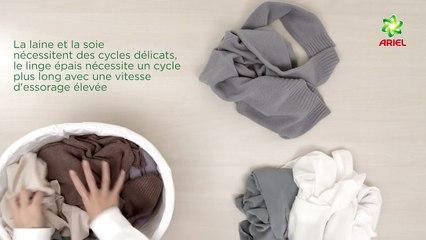 Comment choisir le meilleur cycle de lavage - Ariel