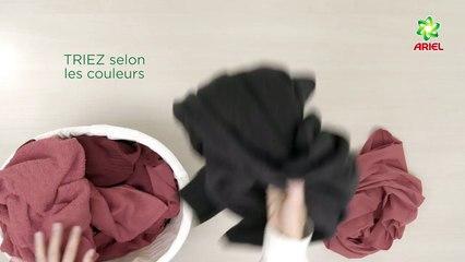 Comment empêcher votre linge de couleur de déteindre - Ariel