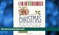Pre Order Color By Number For Adults: Christmas Doodles Nona Meyers On CD