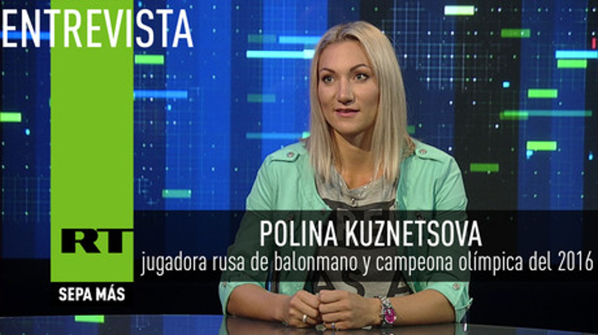 Entrevista con Polina Kuznetsova,  jugadora rusa de balonmano y campeona olímpica del 2016