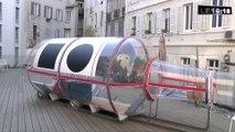 Le 18:18 - Marseille : un artiste s'enferme dans une bouteille géante pour cinq jours et cinq nuits