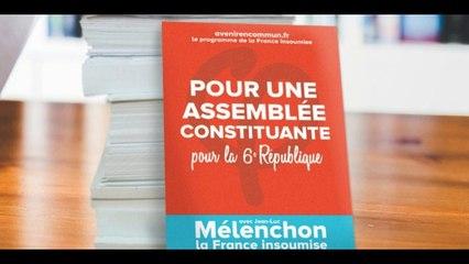 L'avenir en commun Programme de la France Insoumise et de son candidat Jean Luc MELENCHON